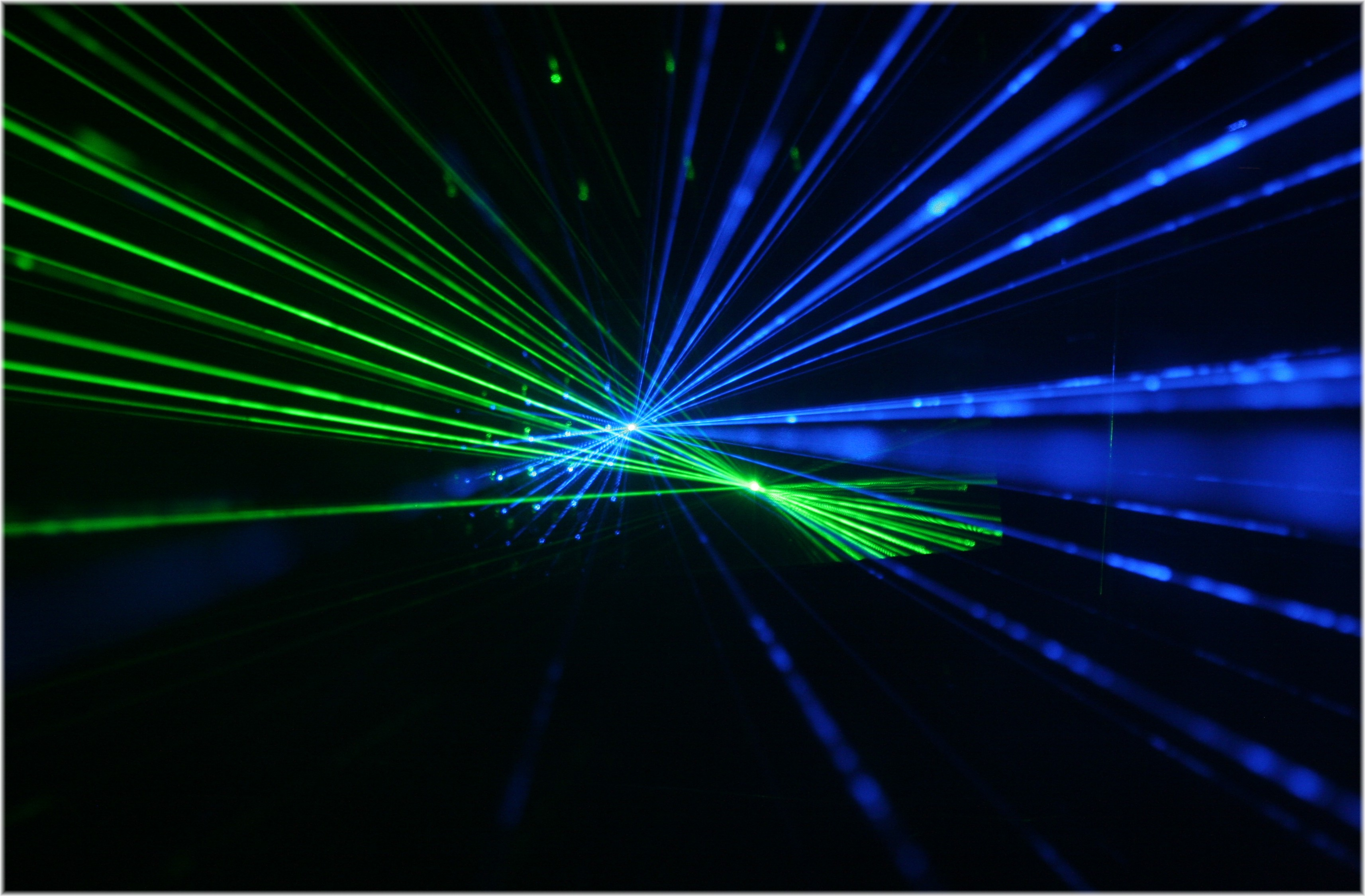 Blue and Green Lasers